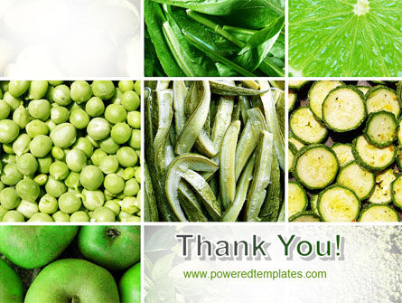 Green Vitamins PowerPoint Template Slide 20