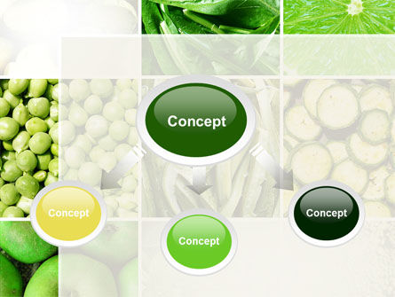 Green Vitamins PowerPoint Template Slide 4