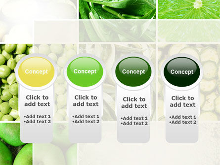 Green Vitamins PowerPoint Template Slide 5