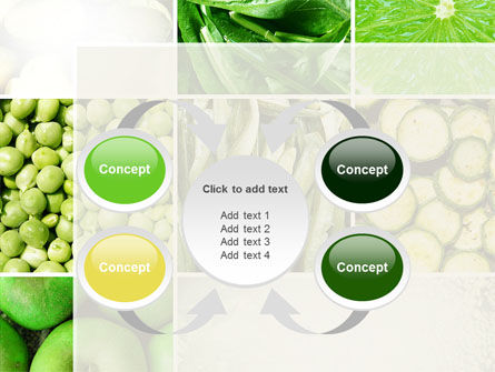 Green Vitamins PowerPoint Template Slide 6