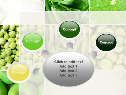 Green Vitamins PowerPoint Template Slide 7