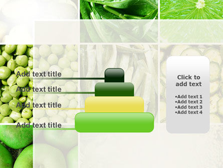 Green Vitamins PowerPoint Template Slide 8