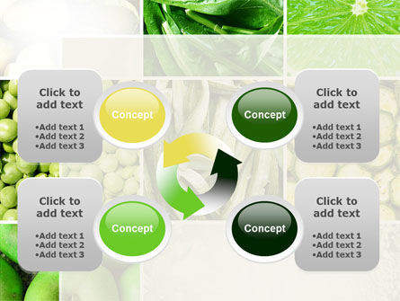Green Vitamins PowerPoint Template Slide 9