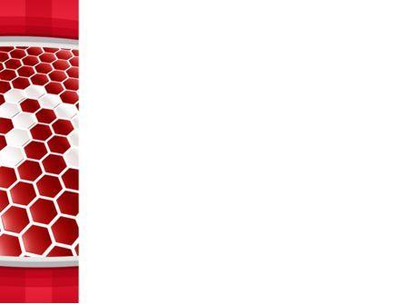 Linked Cells PowerPoint Template, Slide 3, 10241, Abstract/Textures — PoweredTemplate.com