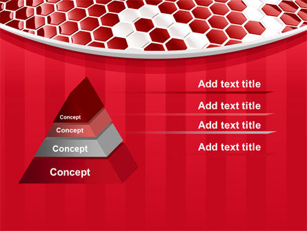 Linked Cells PowerPoint Template Slide 12