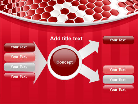 Linked Cells PowerPoint Template Slide 14