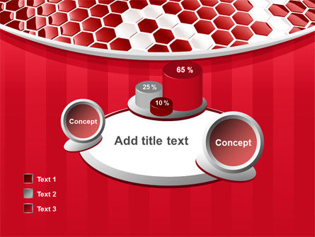 Linked Cells PowerPoint Template Slide 16