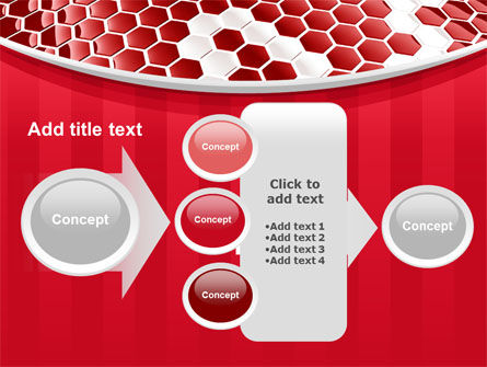 Linked Cells PowerPoint Template Slide 17