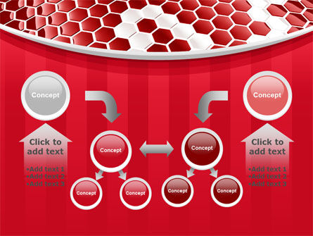 Linked Cells PowerPoint Template Slide 19
