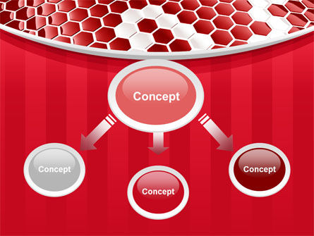 Linked Cells PowerPoint Template Slide 4