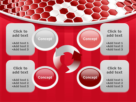 Linked Cells PowerPoint Template Slide 9