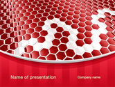 Abstract/Textures: Linked Cells PowerPoint Template #10241