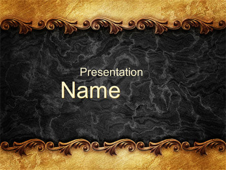 Abstract/Textures: Granitic PowerPoint Template #10245