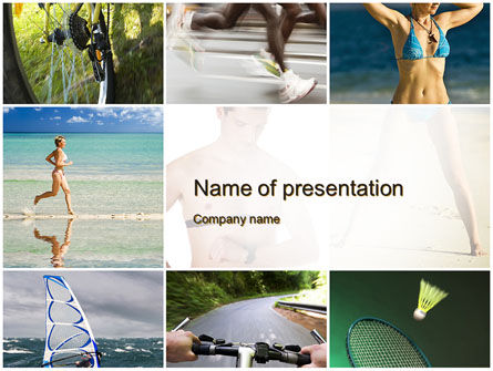 Sports Lifestyle PowerPoint Template, 10246, Sports — PoweredTemplate.com