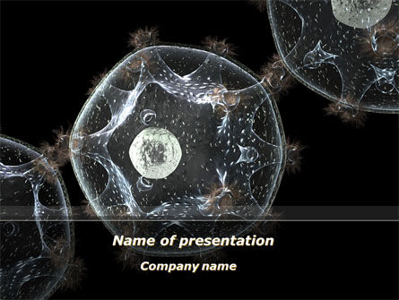 General: Virus Colony PowerPoint Template #10247