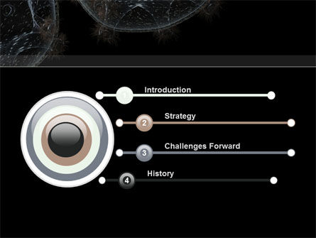 Virus Colony PowerPoint Template, Slide 3, 10247, General — PoweredTemplate.com