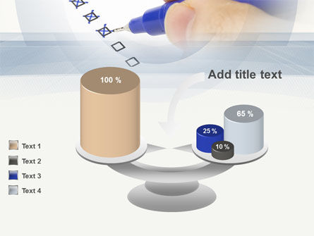 Evaluation Check PowerPoint Template Slide 10