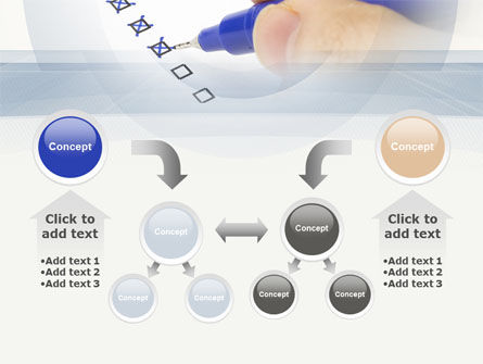 Evaluation Check PowerPoint Template Slide 19