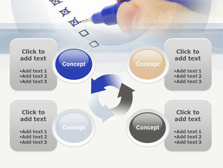 Evaluation Check PowerPoint Template Slide 9