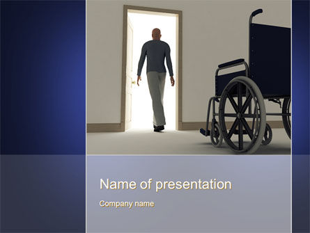 Medical: Medical Recovery PowerPoint Template #10249