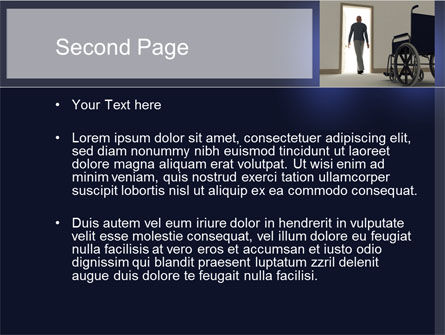 Medical Recovery PowerPoint Template, Slide 2, 10249, Medical — PoweredTemplate.com