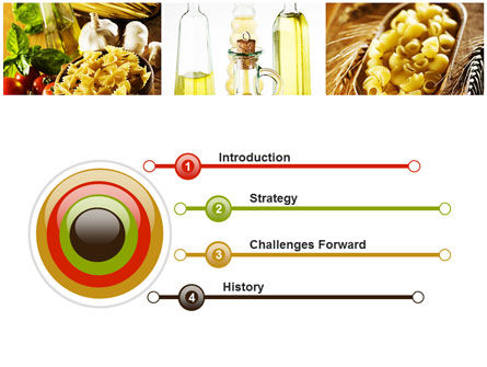 Cooking Pasta PowerPoint Template, Slide 3, 10250, Food & Beverage — PoweredTemplate.com