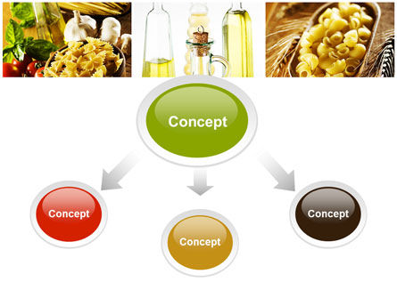 Cooking Pasta PowerPoint Template, Slide 4, 10250, Food & Beverage — PoweredTemplate.com