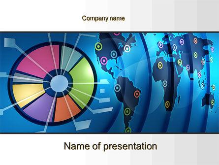 Worldwide Report PowerPoint Template, 10252, Business Concepts — PoweredTemplate.com