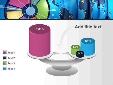 Worldwide Report PowerPoint Template Slide 10