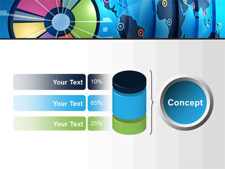 Worldwide Report PowerPoint Template Slide 11