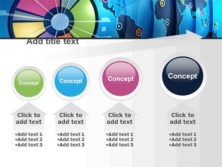 Worldwide Report PowerPoint Template Slide 13