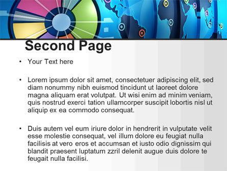 Worldwide Report PowerPoint Template, Slide 2, 10252, Business Concepts — PoweredTemplate.com