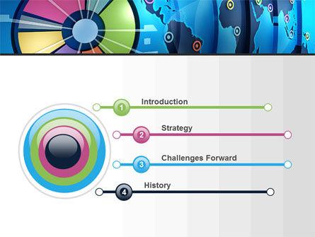 Worldwide Report PowerPoint Template, Slide 3, 10252, Business Concepts — PoweredTemplate.com