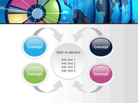 Worldwide Report PowerPoint Template Slide 6