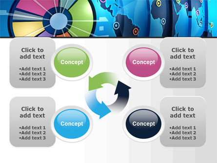 Worldwide Report PowerPoint Template Slide 9