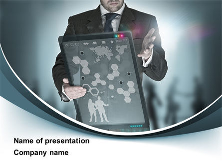 Technology and Science: Techno Presentation PowerPoint Template #10254