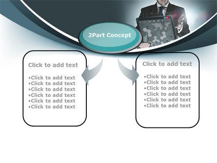 Techno Presentation PowerPoint Template, Slide 4, 10254, Technology and Science — PoweredTemplate.com