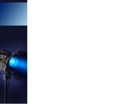 Studio Spotlight PowerPoint Template, Slide 3, 10255, Careers/Industry — PoweredTemplate.com