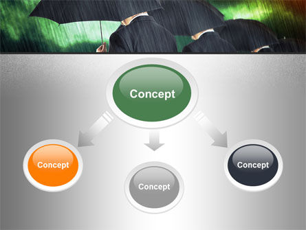 Bad Weather PowerPoint Template, Slide 4, 10256, Business Concepts — PoweredTemplate.com