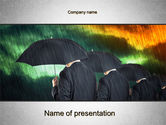 Business Concepts: Bad Weather PowerPoint Template #10256