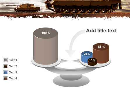 Tank Attack PowerPoint Template Slide 10