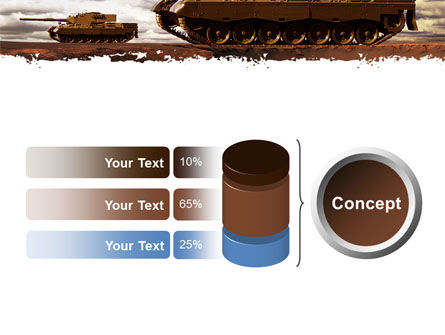 Tank Attack PowerPoint Template Slide 11