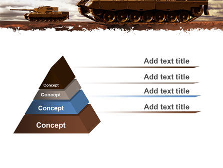 Tank Attack PowerPoint Template Slide 12