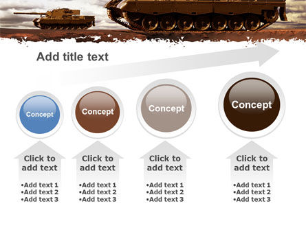 Tank Attack PowerPoint Template Slide 13