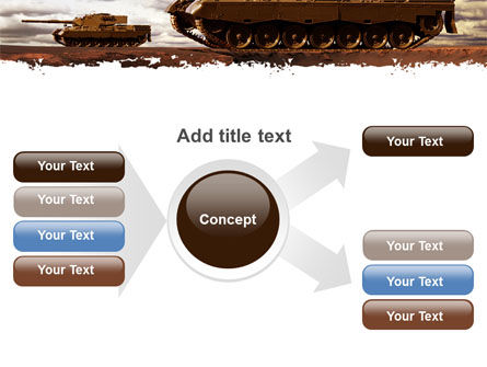 Tank Attack PowerPoint Template Slide 14
