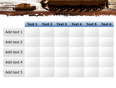 Tank Attack PowerPoint Template Slide 15