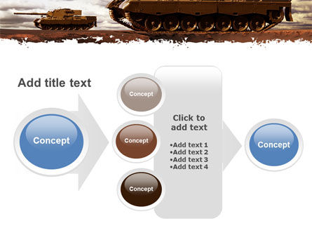Tank Attack PowerPoint Template Slide 17