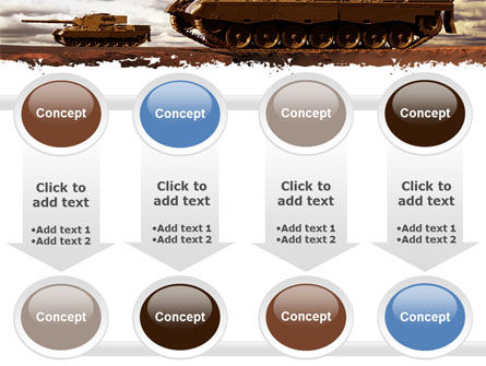 Tank Attack PowerPoint Template Slide 18