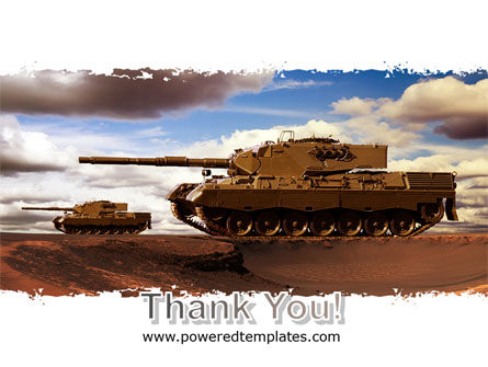 Tank Attack PowerPoint Template Slide 20