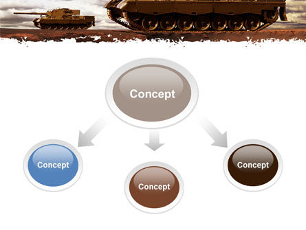 Tank Attack PowerPoint Template Slide 4